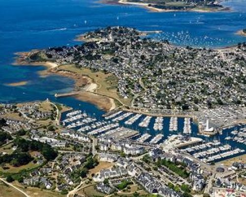 Morbihan (56): le port du Crouesty, commune d'Arzon